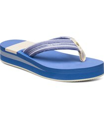 lemonbeach flip-flop shoes summer shoes flip flops blå gant