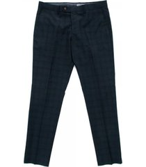 matinique las w pm midnight blue check trousers d58002001