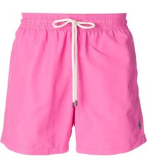 polo ralph lauren classic swim shorts - pink