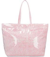 marc jacobs the snuggle pvc tote bag