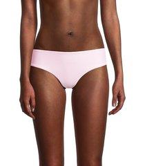 mikoh swimwear women's cruz bay bikini bottom - cloud pink - size s