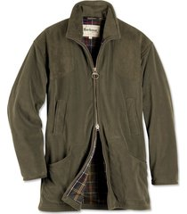 barbour dunmoor fleece jacket / orvis exclusive barbour dunmoor fleece jacket, olive, x large