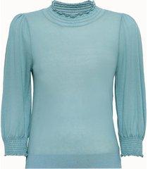 bellerose maglia ecofriendly azzurra