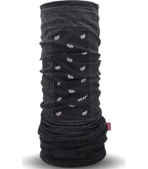 bandana paisley negro wild wrap