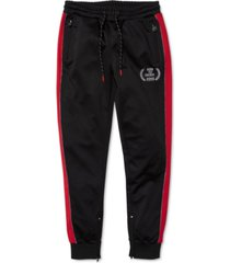 born fly men's creeper colorblocked track pants