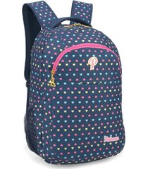 mochila infantil princess azul