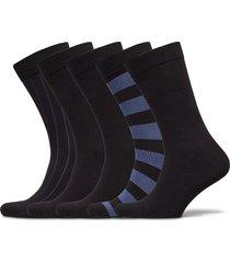 sock ankle bb block stripe & bb underwear socks regular socks multi/mönstrad björn borg