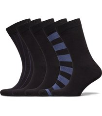 sock ankle bb block stripe & bb underwear socks regular socks multi/mönstrad björn borg