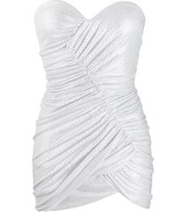 alexandre vauthier evening dress - white