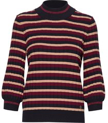 allie knit stickad tröja röd morris lady