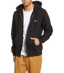 men's obey all eyez ii zip hoodie