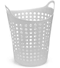 cesto de roupas flexível 44 litros branco
