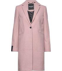 ariana wool coat yllerock rock rosa superdry