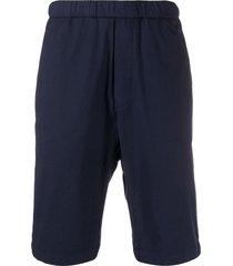 barena agro tralcio bermuda shorts - blue