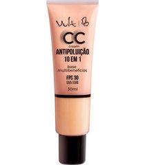 base cc cream antipoluição vult mb01