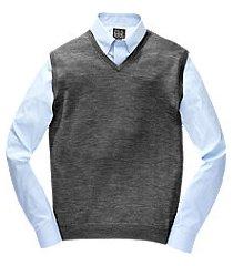 traveler collection washable merino wool men's sweater vest