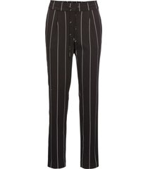 pantaloni con bande laterali (nero) - bodyflirt
