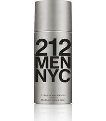 carolina herrera 212 vip men desodorante masculino 150ml único