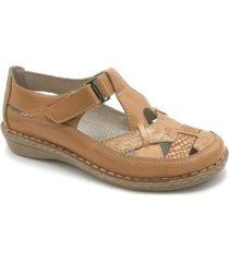 sandalia marrón cavatini