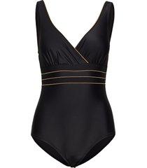 samos swimsuit baddräkt badkläder svart missya