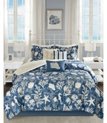 madison park cape cod 7-pc. california king comforter set bedding