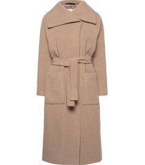 laudaiw slit coat yllerock rock beige inwear