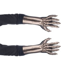 zagone size studios dress up costume adult skeleton gloves one size