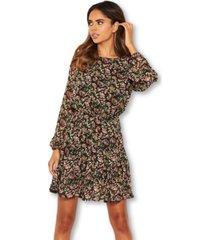 ax paris women's floral long sleeve dress