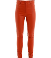 drome stretch nappa trousers