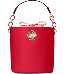 small suzy leather bucket bag