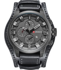 reloj curren 8225 - gris