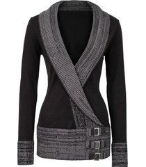 maglione (nero) - bodyflirt boutique