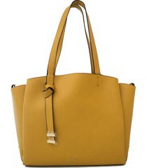 cartera nine west  gaya carryall- amarillo