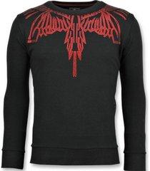sweater local fanatic eagle glitter - merk sweater - 6340z -