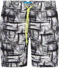 pantaloneta estampada para hombre 08142