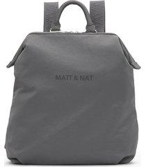 matt & nat dublin backpack, grey