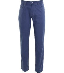 adam est 1916 adam broek 5-pocket katoen stretch denim