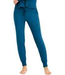 alfani ultra-soft jogger pajama pants, created for macy's
