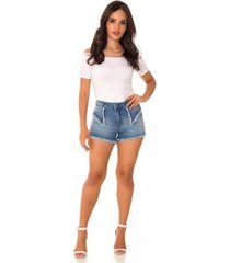 shorts jeans express hot pants amália feminino
