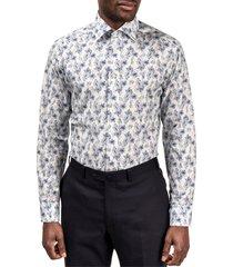 men's eton slim fit floral dress shirt