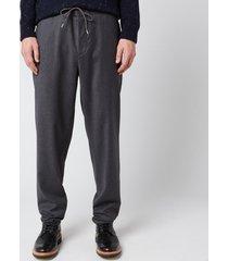 a.p.c. men's etienne trousers - grey - 50/l