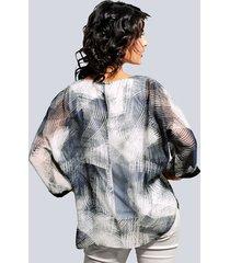 blus alba moda khaki::kitt