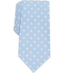 club room men's roberts slim floral tie, created for macy's
