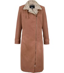 cappotto corto con chiusura asimmetrica (marrone) - bpc bonprix collection