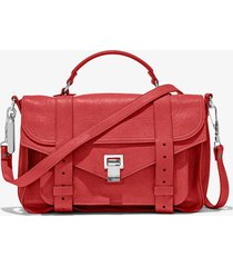 proenza schouler ps1 medium bag 3074 flame red one size