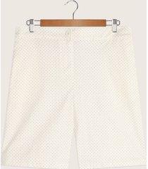 bermuda con bolsillos diagonales estampada-14