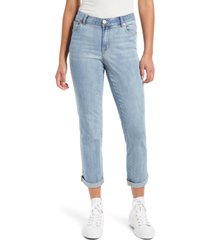 women's 1822 denim high waist ankle boyfriend jeans