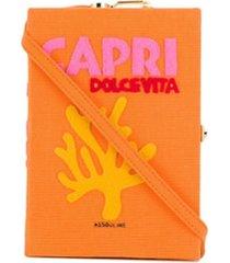 olympia le-tan clutch capri dolce vita - laranja