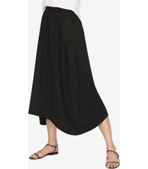 b new york cocoon panelled skirt