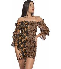 vestido primia limara multicolor